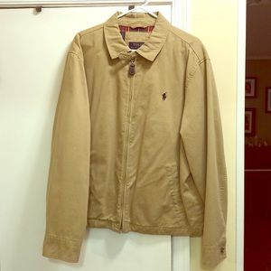 Polo Ralph Lauren XL casual khaki jacket.